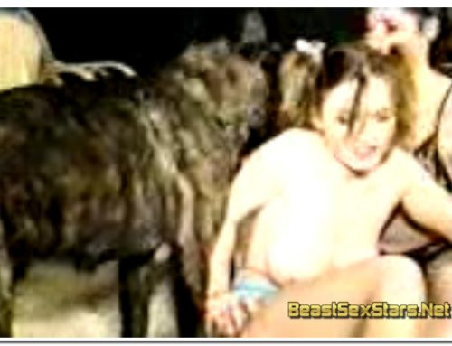 0188 – Dutch Dog, 2 Women with Dog